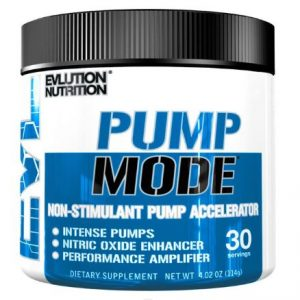 Evlution Nutrition Pump Mode Pre Workout Powder