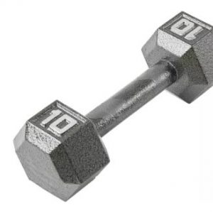 Fitness Gear 10 lb. Cast Hex Dumbbell