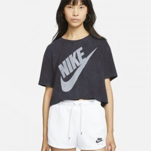 Nike Women's Short Sleeve Crop Top